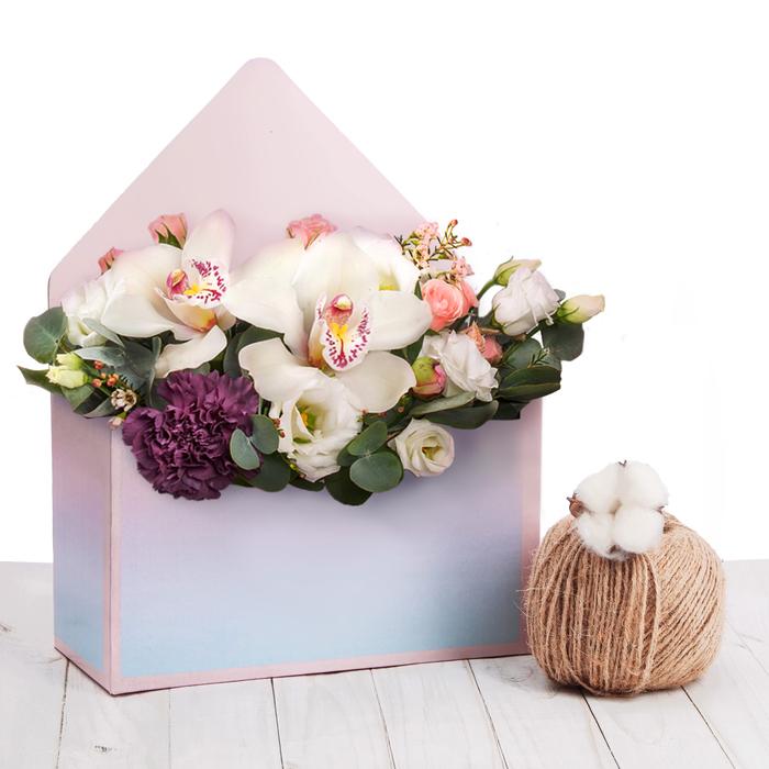 Коробка–письмо «Райский рассвет», 25 × 33 × 10 см