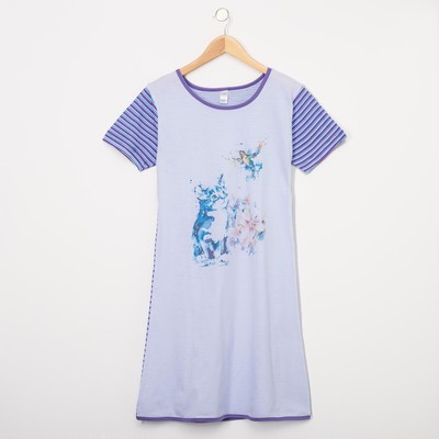 Платье женское, цвет сиреневый, размер 50