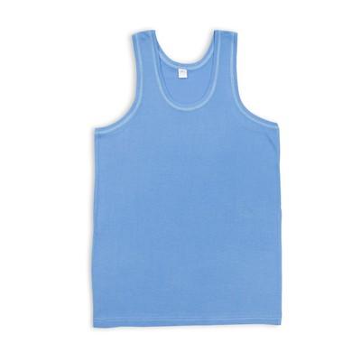 Майка мужская, цвет голубой, размер 48