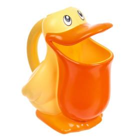 Игрушка-ковш для ванны «Пеликан», цвета МИКС