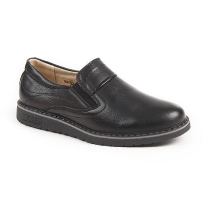 Туфли для школьников мальчиков арт. SВ-22455, цвет чёрный, размер 31