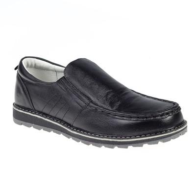 Туфли для школьников мальчиков арт. SB-22469, цвет чёрный, размер 37