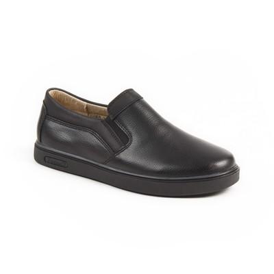 Туфли для школьников мальчиков арт. SВ-22458, цвет чёрный, размер 33