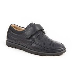 Туфли для школьников мальчиков арт. SВ-22461, цвет синий, размер 33