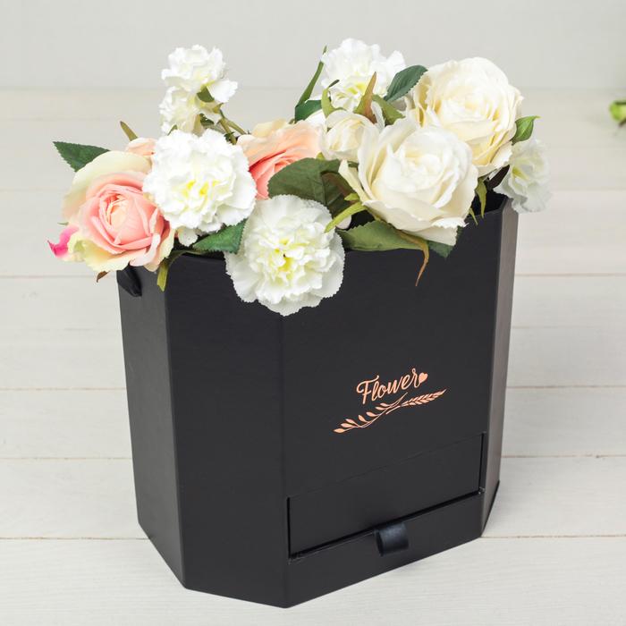 Переноска для цветов 25,5 х 18,5 х 25 см - фото 690083309