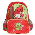 Рюкзак школьный с эргономической спинкой Luris Степашка 37x26x13 см для девочки, «Зайка»