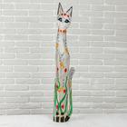"""Сувенир дерево """"Кошка"""" 21х7,5х100 см"""