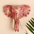 """Сувенир дерево """"Голова слона"""" 28х26х10,5 см"""