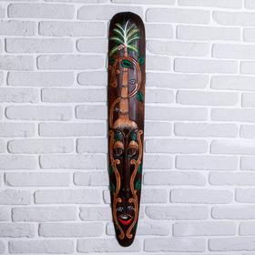 """Маска дерево """"Джунгли"""" 100х17х3,5 см"""