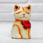"""Souvenir wood """"Kitty"""" 5,5x4,5x8 cm"""