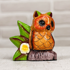 "Souvenir wood ""Owl"" 8 x 4,5x8 cm"
