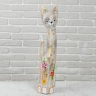 """Сувенир дерево """"Кошка"""" 60х12х6,5 см"""