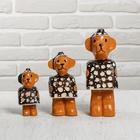 """Gift set """"Bears"""" 15х20х12 cm"""