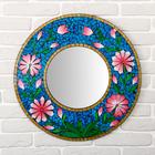 """Panels of mirror """"Flowers"""" 60х1х60 cm"""