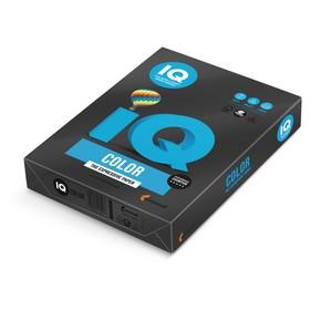 Бумага цветная А4 500 л, IQ COLOR Intensive, 80 г/м2, черная, В100