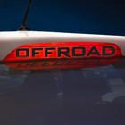 """Наклейка на стоп сигнал на заднее стекло """"OFFROAD"""""""