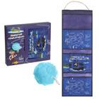 """Подарочный набор """"Морские приключения"""": кармашек подвесной пластиковый на 3 отделения и мочалка - фото 992741"""