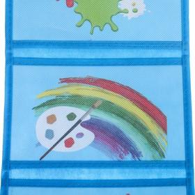 """Кармашки подвесные в подарочной упаковке """"Краски"""", 3 отделения - фото 1626722"""