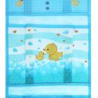 """Кармашки подвесные пластиковые в подарочной упаковке """"Уточка"""", 3 отделения - фото 1632227"""