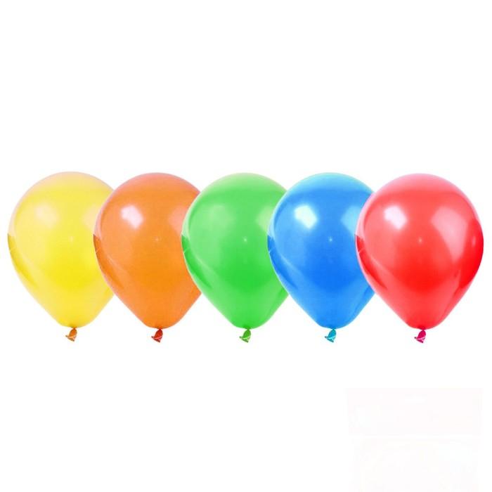 """Набор для праздника """"С днем рождения"""" 5 лет, свеча + 5 шаров - фото 35609613"""