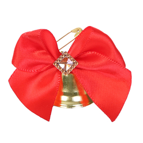 Bell prom with bowknot strati