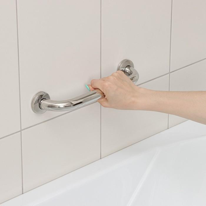 Поручень для ванны 34×5×8,5 см, нержавеющая сталь