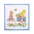 Набор детских носовых платков Etteggy, 25х25 см- 6шт, ситец - фото 105552104