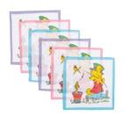 Набор детских носовых платков Etteggy, 6шт, ситец - фото 105552107