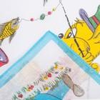 Набор детских носовых платков Etteggy, 6шт, ситец - фото 105552109