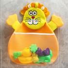 Сетка для хранения игрушек в ванной «Лев»