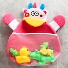 Сетка для хранения игрушек в ванной «Бурёнка»
