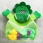 Сетка для хранения игрушек в ванной «Крокодильчик»