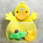 Сетка для хранения игрушек в ванной «Утка»