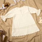 Платье для девочки, рост 56/68 см, цвет молочный M030201L68_М