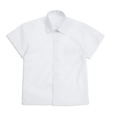 Сорочка для мальчика, размер 25, рост 86/92 см, цвет белый 16_1