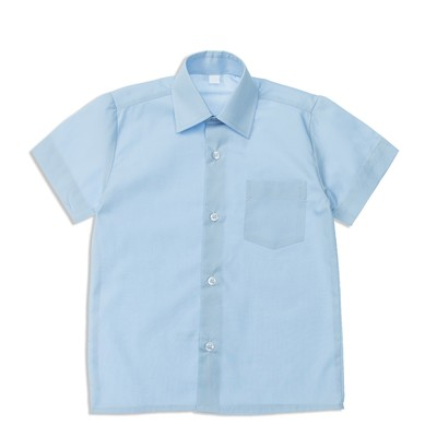 Сорочка для мальчика, размер 25, рост 86/92 см, цвет светло-голубой 16_1