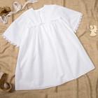 Платье детское, рост 74/86 см, цвет белый M030203StV86_М