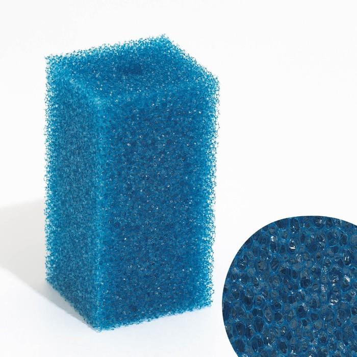 Губка прямоугольная для фильтра №3, 6х6х12 см