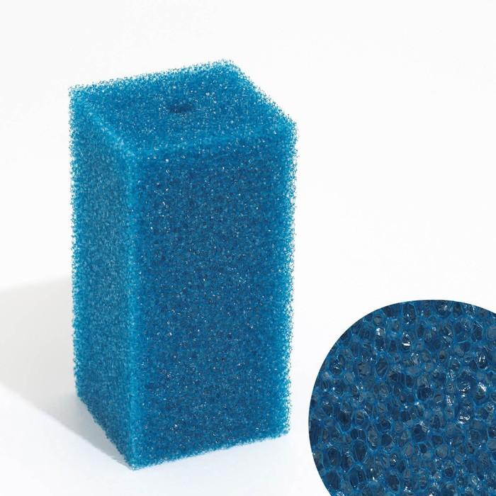Губка прямоугольная для фильтра №9, 8х8х16 см