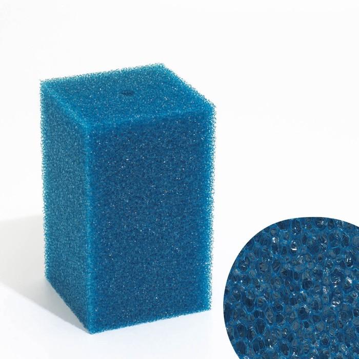 Губка прямоугольная запасная для фильтра №16, 12х12х20 см