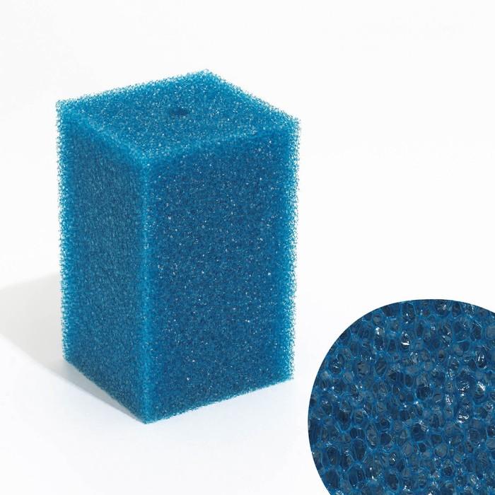 Губка прямоугольная запасная для фильтра №21, 10х10х16 см