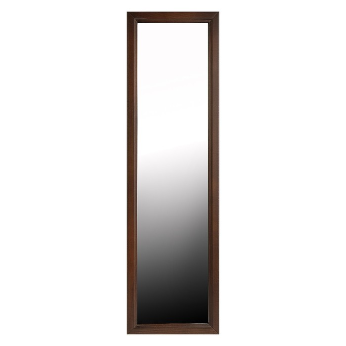 Зеркало настенное, 118х34 цвет орех