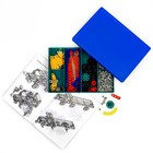 Конструктор «Самоделкин 80», 307 деталей, 80 моделей, цветной - фото 105630715