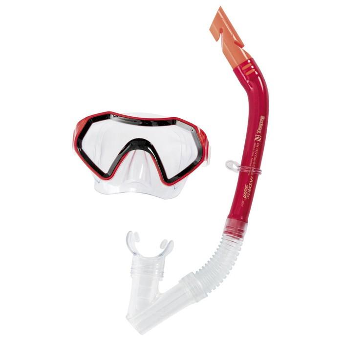 Набор для подводного плавания Sparkling Sea, 2 предмета: маска, трубка, от 7+ МИКС (24025) Bestway