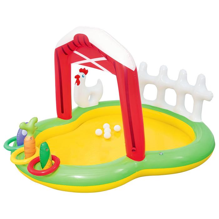 """Игровой центр """"Ферма"""", с игрушками, 175*147*102 см, 121л., от 2+ (53065)"""