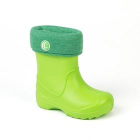 Сапоги детские арт. 2066 B-RW-EVA (зеленый) (р. 28/29)