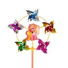 Ветерок с фольгой «Пони», 42 см - фото 995127