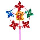 Ветерок с фольгой «Котик», 42 см - фото 995135