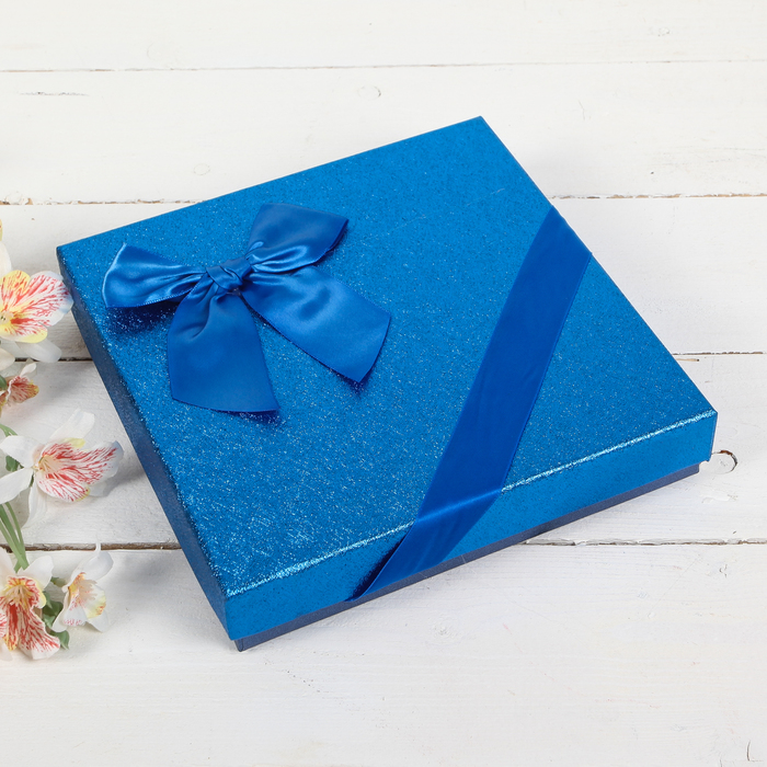 Коробка подарочная 20 х 20 х 4 см
