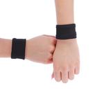Напульсники бифлекс 8 см, пара, цвет чёрный
